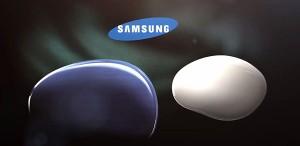 """Logo da Samsung usada em referência ao """"próximo Galaxy"""". (Foto: Reprodução)"""