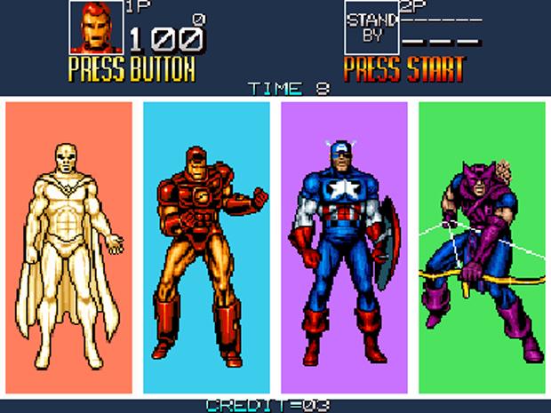 Captain America and The Avengers (Foto: Reprodução)