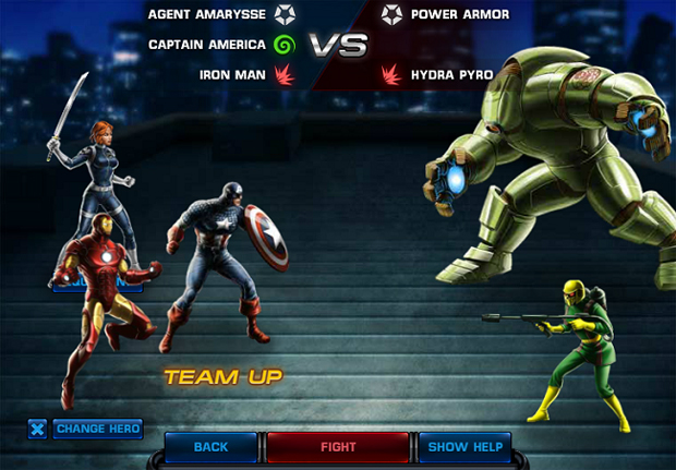Marvel: Avengers Alliance (Foto: Divulgao)