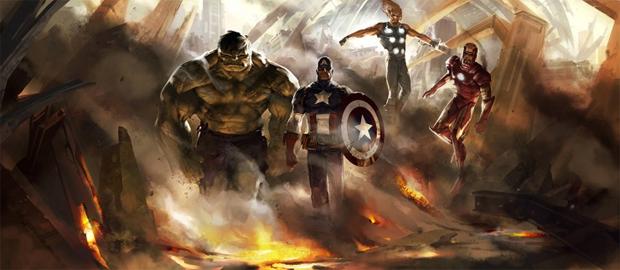 Arte conceitual do jogo cancelado dos Vingadores (Foto: Reprodução)