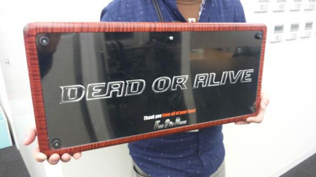 Produtores de Dead or Alive 5 ganham joystick arcade caseiro feito por fãs (Foto: CaptainStarBall)