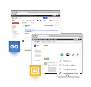 Integração com o Gmail e o Google+ (Foto: Reprodução / Divulgação)