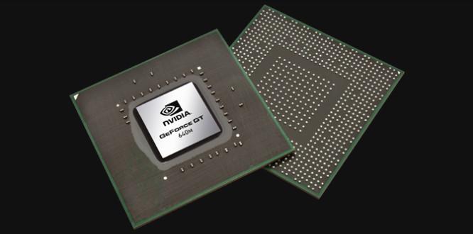Chipset NVIDIA Geforce 640M