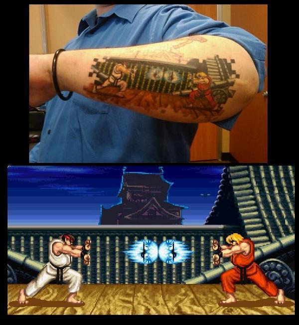 Tatoo gamer (Foto: Capcom-Unity)