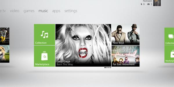 Xbox Live Music (Foto: Reprodução/Joystiq)