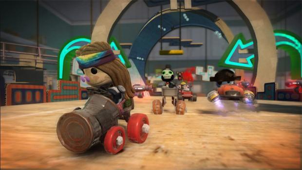 LittleBigPlanet Karting (Foto: Divulgação)