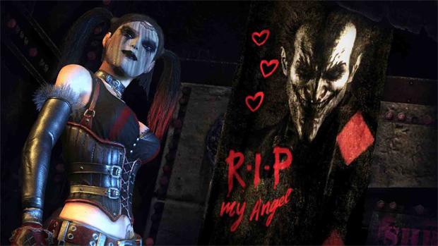 A vingança de Arlequina em Batman: Arkham City (Foto: Divulgação)