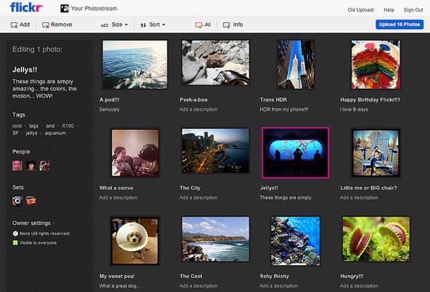 Ao longo das próximas semanas, usuários do Flickr poderão utilizar novos recursos do novo uploader (Foto: Reprodução))