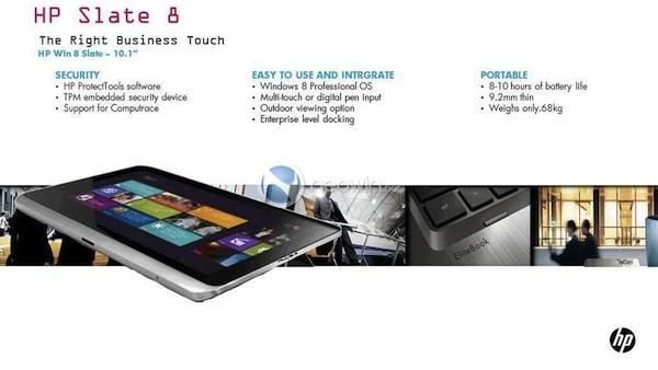 Slate 8 seria o primeiro tablet com Windows 8 (Foto: Reprodução)