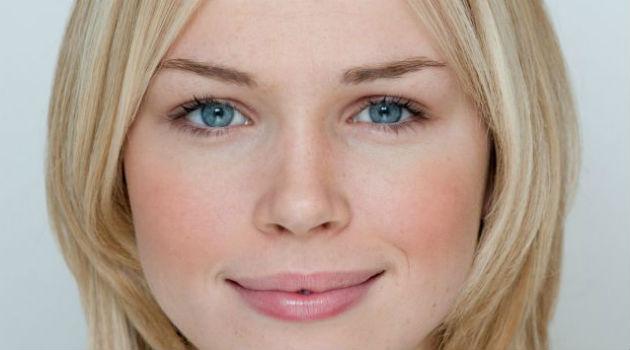 Inglesa é eleita rosto mais bonito do Reino Unido, mas imagem foi editada no Photoshop (Foto: Divulgação)