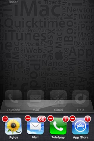 Fechando aplicativos no iPhone (Foto: Reprodução)