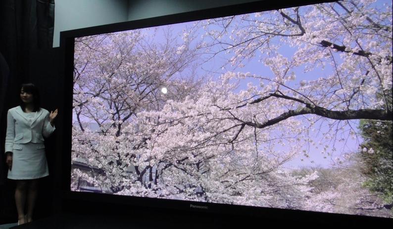 Super TV de 145 polegadas de plasma e com 4K da Panasonic (Foto: Reprodução/Engadget)