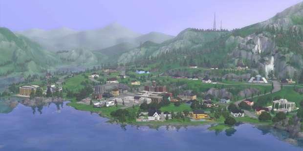The Sims 3 Hidden Springs (Foto: Divulgação) (Foto: The Sims 3 Hidden Springs (Foto: Divulgação))