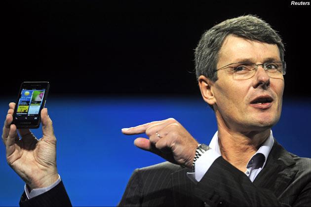 CEO da RIM apresentou o protótipo do BlackBerry 10 (Foto: Divulgação) (Foto: CEO da RIM apresentou o protótipo do BlackBerry 10 (Foto: Divulgação))