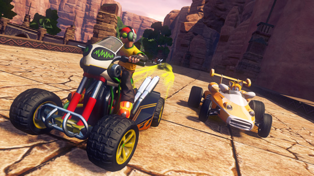 Sonic & Sega All-Sars Racing Transformed (Foto: Eurogamer) (Foto: Sonic & Sega All-Sars Racing Transformed (Foto: Eurogamer))
