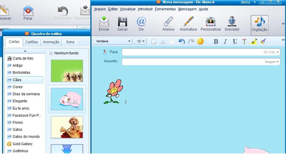 Como personalizar suas mensagens com o IncrediMail (Foto: Reprodução/TechTudo)