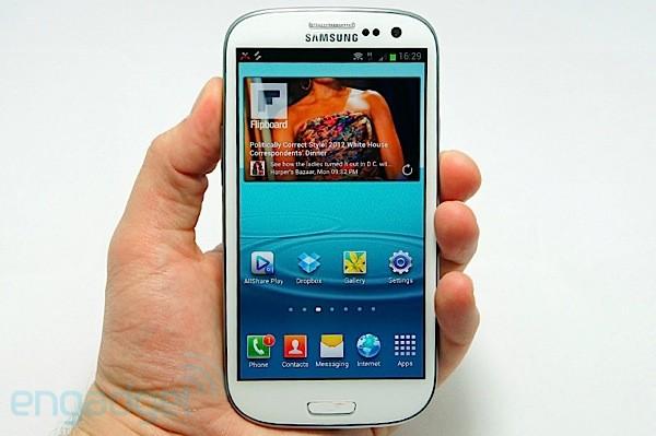 Samsung lança o Galaxy S III. (Foto: Reprodução)