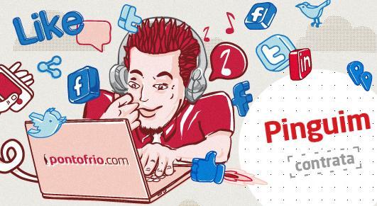 Só na social é o nome do projeto do Ponto Frio (Foto: Reprodução) (Foto: Só na social é o nome do projeto do Ponto Frio (Foto: Reprodução))
