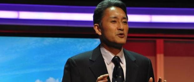 Kaz Hirai, atual CEO da Sony, durante a E3 2011 (Reprodução)