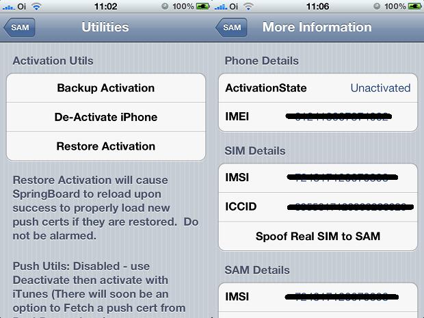 Preparando e pegando informações do iPhone para ativação (Foto: Reprodução/Edivaldo Brito)