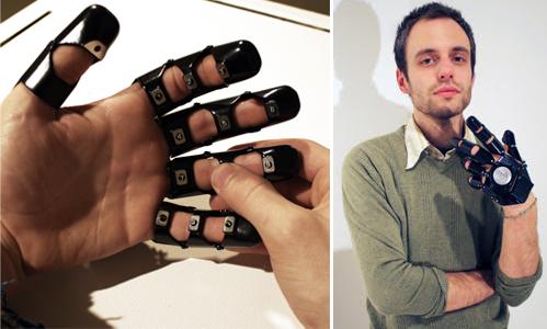 Glove One é um conceito de celular em forma de luva (Foto: Reprodução/Ponoko)