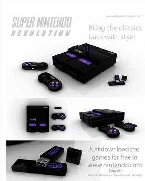 Montagem do Super Nintendo Revolution ganha destaque no Facebook N2w81fqp