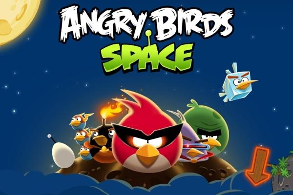 Angry Birds Space está chegando também ao Windows Phone (Foto: Reprodução)