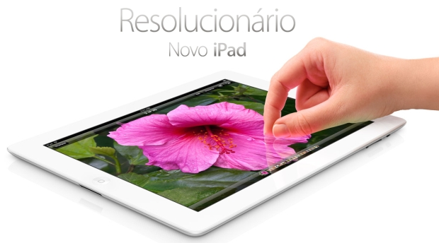 Novo iPad: na TIM, a partir de R$ 1.560,00 (Foto: Reprodução/Apple) (Foto: Novo iPad: na TIM, a partir de R$ 1.560,00 (Foto: Reprodução/Apple))