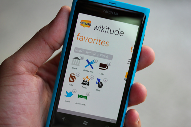 Wikitude para Windows Phone (Foto: TechTudo)