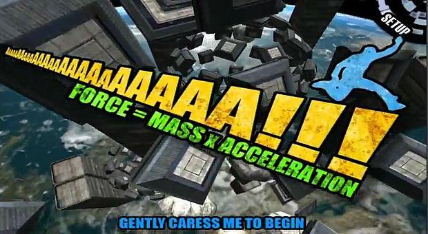 AaaaaAAaaaAAAaaAAAAaAAAAA!!! (Force = Mass x Acceleration) (Foto: Reprodução) (Foto:  AaaaaAAaaaAAAaaAAAAaAAAAA!!! (Force = Mass x Acceleration) (Foto: Reprodução))
