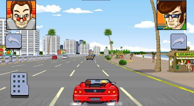 Final Freeway 2R é uma homenagem ao clássico Out Run, da Sega (Foto: Divulgação) (Foto: Final Freeway 2R é uma homenagem ao clássico Out Run, da Sega (Foto: Divulgação))