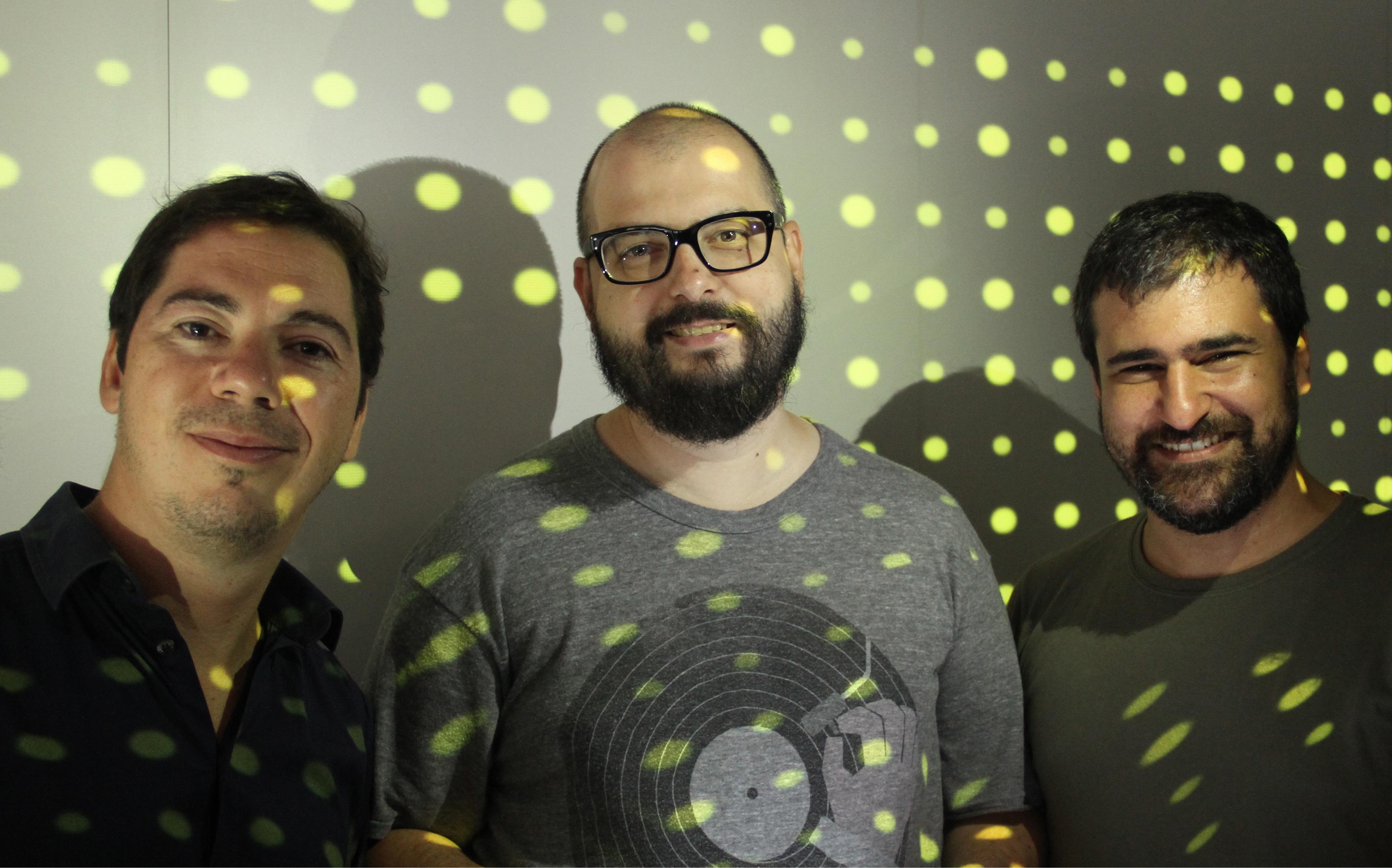 Sócios-Diretores da 32Bits no escritório do Rio (Foto: Divulgação/)