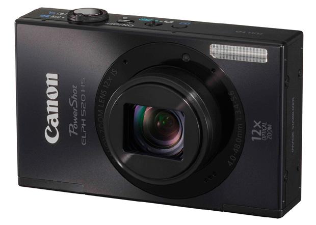 Câmera Digital Canon Elph 520 HS (Foto: Divulgação)