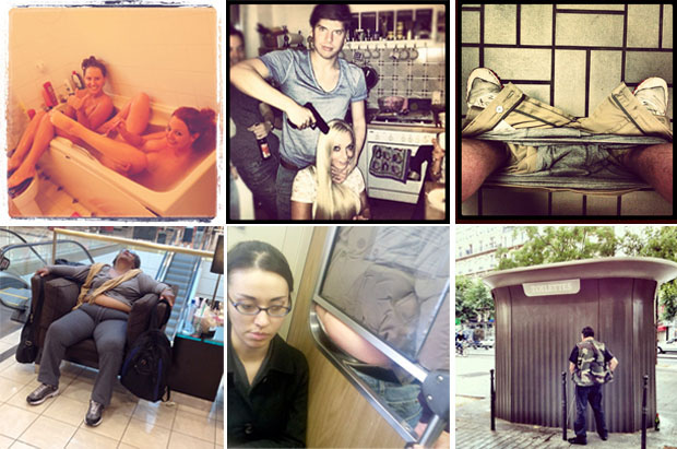 Compilação de imagens do Inappropriate Instagram (Foto: Divulgação)