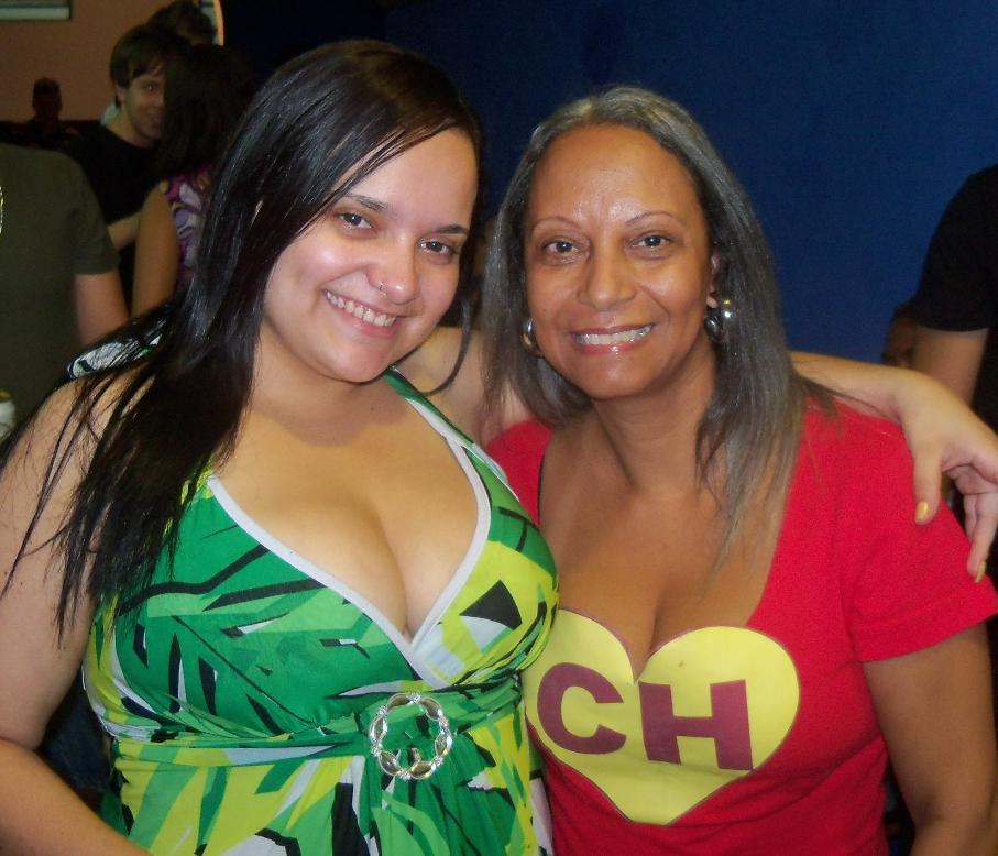 Karina Guedes e a mãe, Márcia, jogavam Buraco e Paciência juntas (Foto: Divulgação)