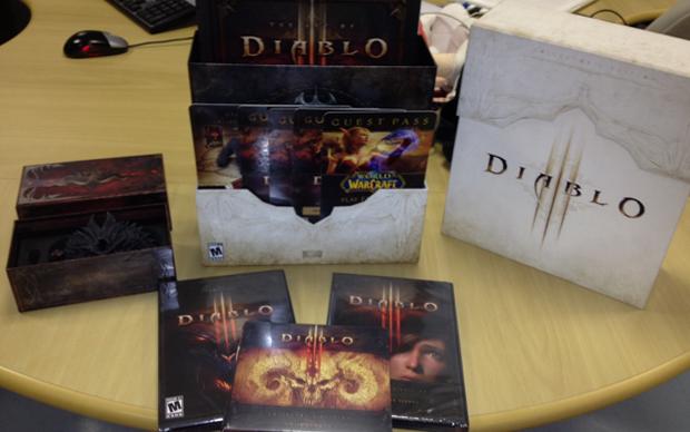 Edição de colecionador de Diablo 3 (Foto: Diego Borges / TechTudo)