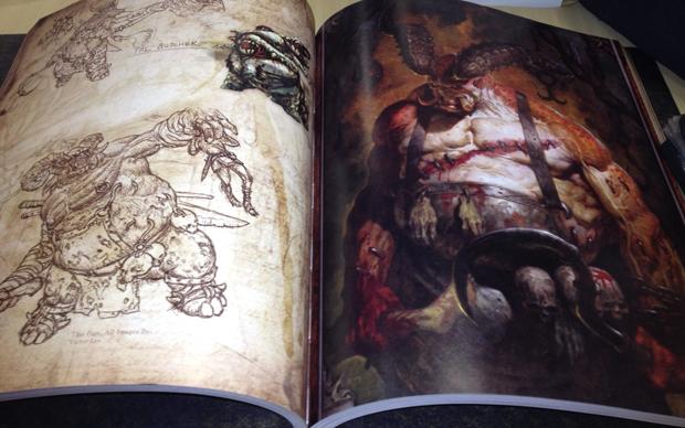 Bookart de Diablo 3 (Foto: Diego Borges / TechTudo)