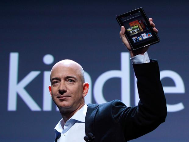 Jeff Bezos prepara outra carta na manga: o e-reader Kindle com tela colorida (Foto: Reprodução/Gizmologia)
