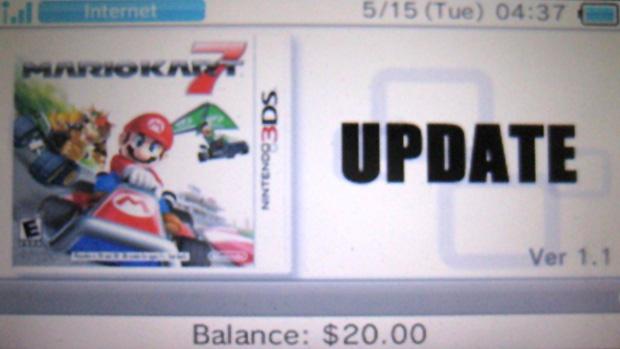 Nintendo lança atualização obrigatória para Mario Kart 7 (Foto: Nintendo Everything)