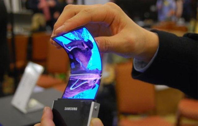 Tela Flexível da Samsung (Foto: Divulgação)