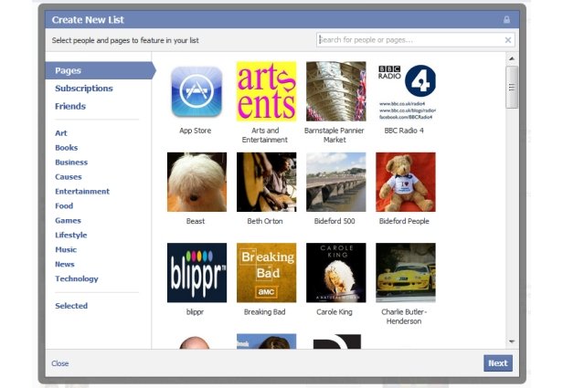 Listas: recurso fundamental para organizar seu feed (Foto: Reprodução)