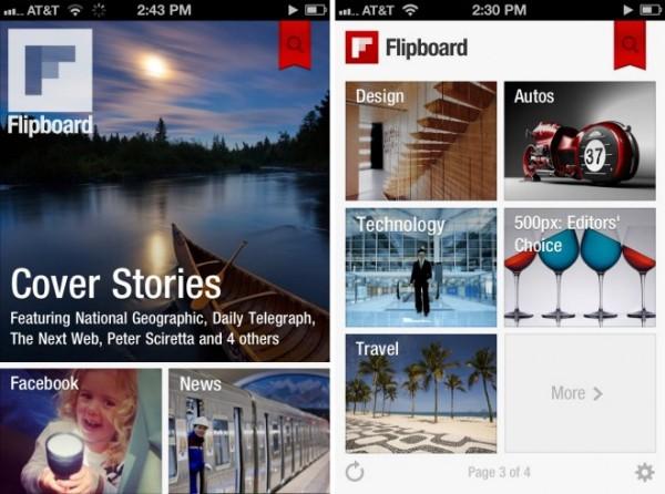Flipboard agora tem opções de áudio em seu leitor (Foto: Reprodução)