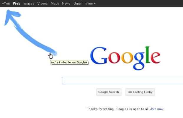 Nem mesmo as campanhas de marketing do Google salvam sua rede social (Foto: Reprodução)