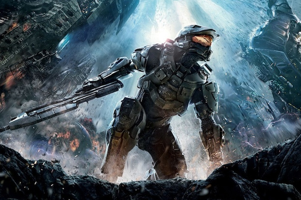 Parte da capa de Halo 4 (Foto: Divulgação)