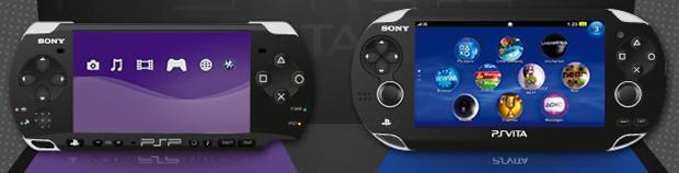 Comparação entre PSP e PS Vita (Foto: Reprodução)