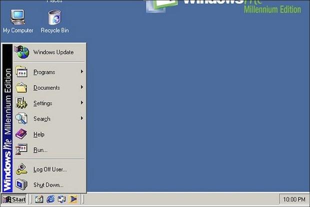 Windows Me (Foto: Reprodução / BBC.co.uk)