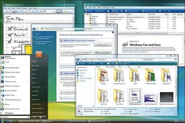 Windows Vista (Foto: Reprodução / BBC.co.uk)