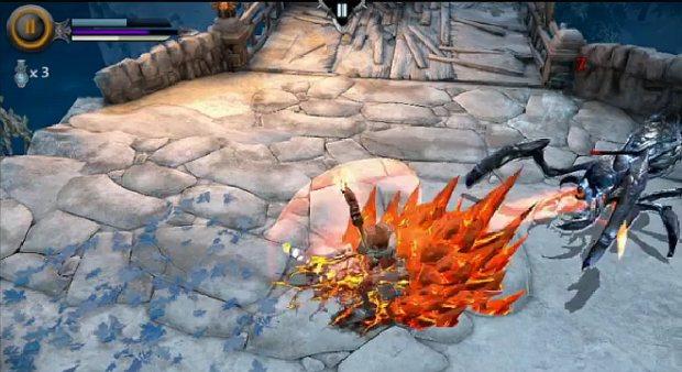 Infinty Blade: Dungeons conta com jogabilidade diferente (Foto: Reprodução) (Foto: Infinty Blade: Dungeons conta com jogabilidade diferente (Foto: Reprodução))
