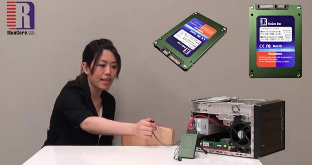 """RunCore apresenta o InVincible, a unidade SSD com botão de """"auto destruição"""" (Foto: Reprodução)"""