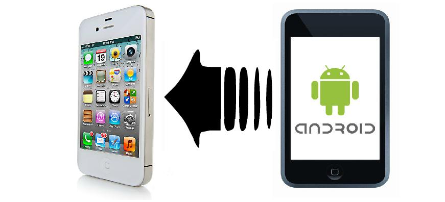 Transferindo os contatos de um smartphone Android para um iPhone (Foto: Reprodução)